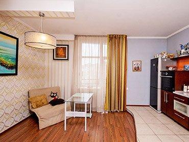Однокомнатная квартира в ЖК «Цветок»