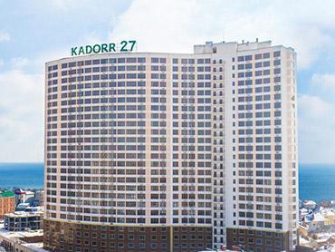 2-х комнатная квартира в ЖК 27-я Жемчужина